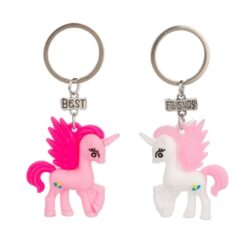 BFF Keychain with Unicorn Large, 2pcs.