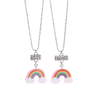 BFF Necklace with Rainbow, 2pcs.