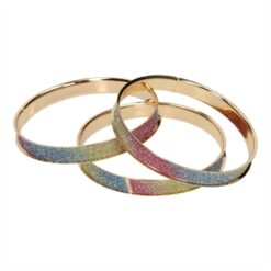 Bracelet Bangle Rainbow, 3pcs.