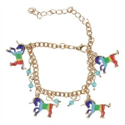 Bracelet Charms with Unicorn
