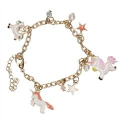 Bracelet with Charms Unicorn