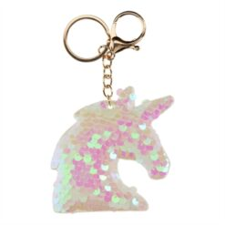 Keychain Sequins Unicorn